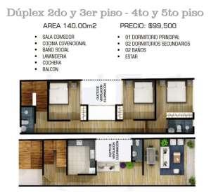 duplex 3 dorm
